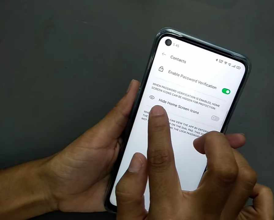 how to hide apps in oppo