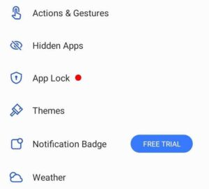 how to hide apps in realme