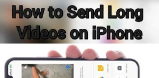 how to send long videos on iphone