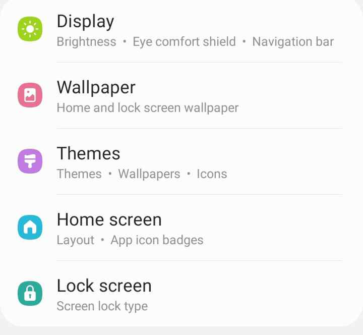 how to hide apps in samsung