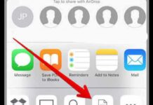 how to convert picture to pdf on iphone